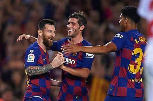 Barcelona got the better of Sevilla