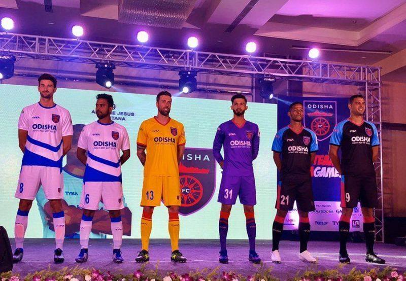 Odisha FC have a relatively inexperienced side.