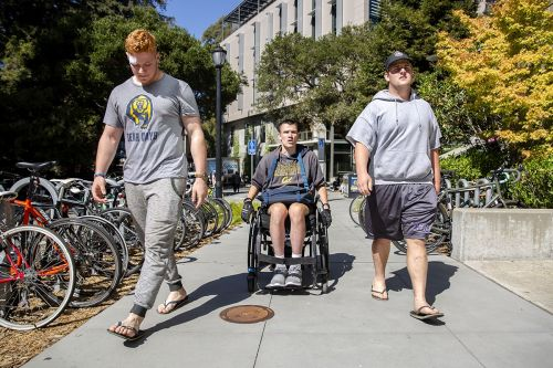 With my team by my side at all times! Credits- UCBerkeley News