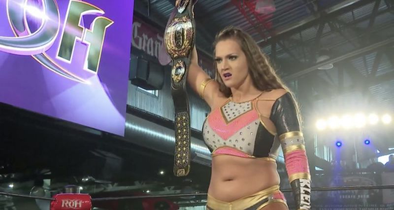 3 Time Women of Honor Champion Kelly Klein