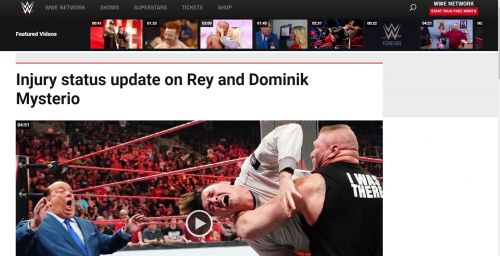 Article published on WWE's website.