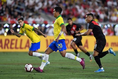 Firmino has seen more game time in recent games for Brazil but he's still competing with Jesus for the spot