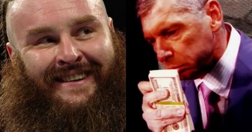 Braun Strowman and Vince McMahon.