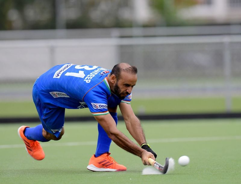 Ramandeep is part of a full-strength Indian forward-line that will take on Russia