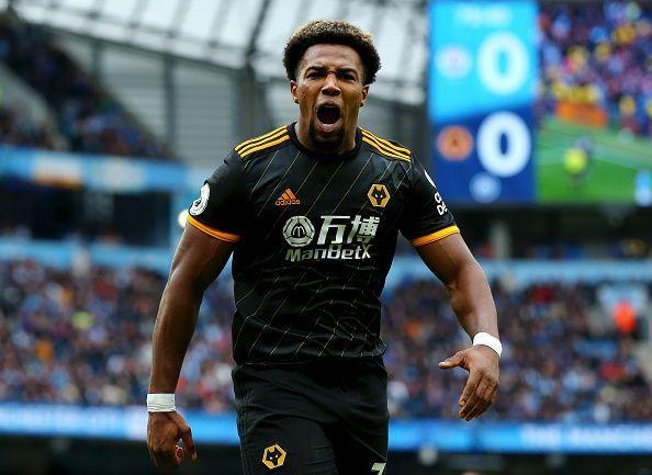 Adama Traore - Scored a brace against Manchester City
