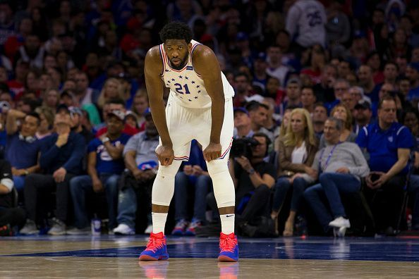 Joel Embiid has a point to prove this season