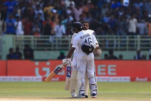 रोहित शर्मा और मयंक अग्रवाल (फोटो: बीसीसीआई)
