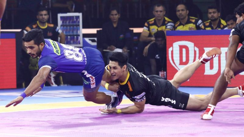 Can Haryana finish their home leg with a win? (Image Courtesy: Pro Kabaddi)