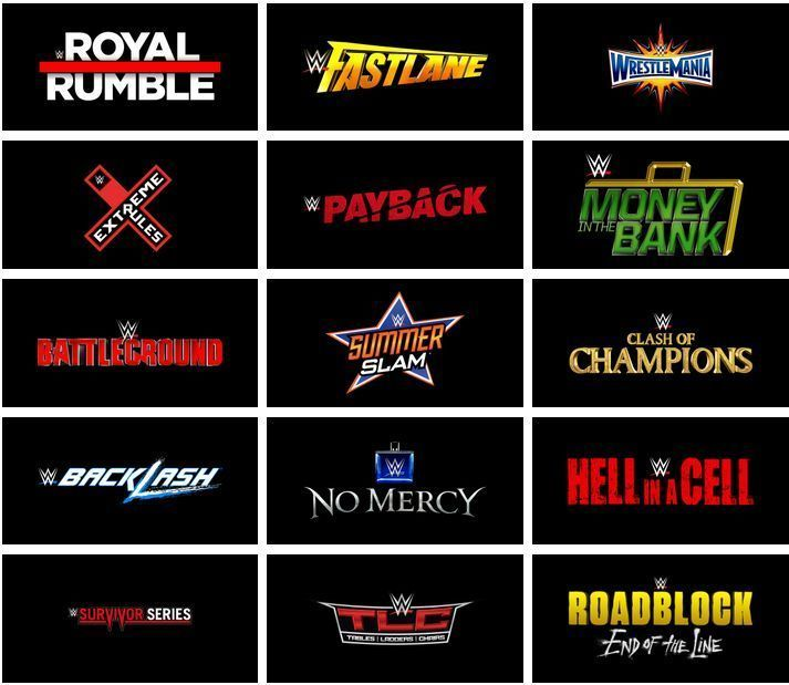 Wwe Events 2020 Schedule.Wwe Ppv Schedule 2019 When Is The Next Wwe Ppv