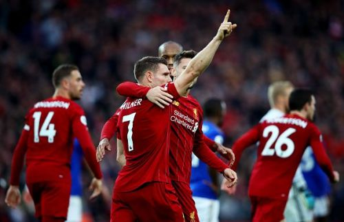 James Milner was Liverpool's hero in stoppage time.