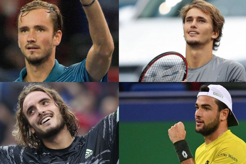 Four Semifinalists of Shanghai Open 2019
