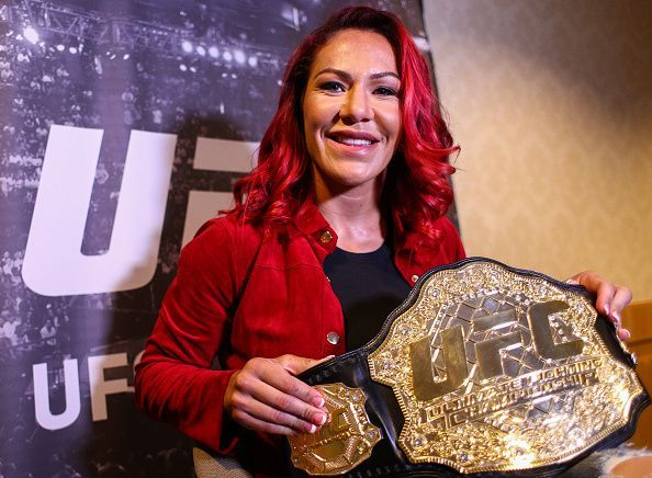 Media Day: Press Conference with UFC Featherweight Champion Cris Cyborg