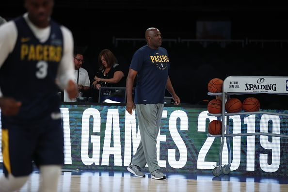Nate McMillan during Indiana Pacers