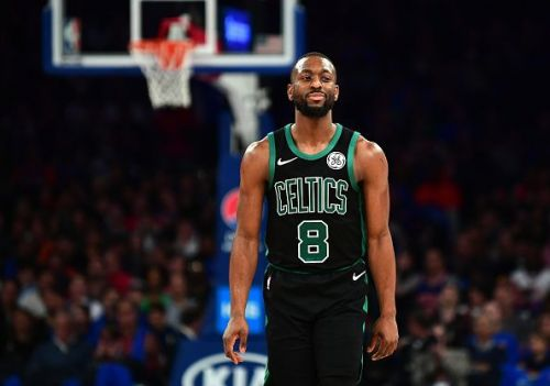 Kemba Walker signed with the Boston Celtics on a four-year, $141 million contract.