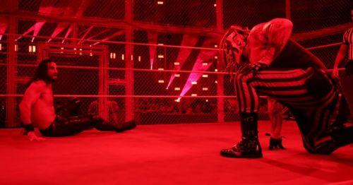 Seth Rollins vs. The Fiend