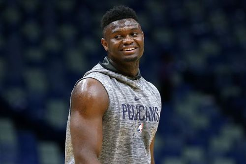 Zion Williamson will miss the opening weeks of the season with a knee injury