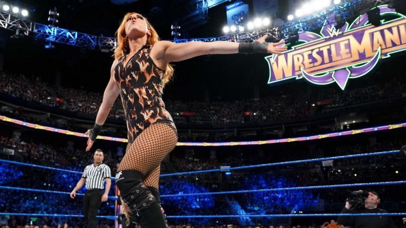 Becky Lynch remains as active as ever in the social media realm