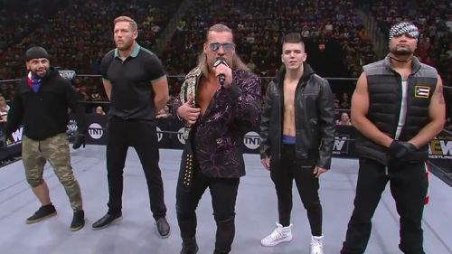 Chris Jericho fired shots at NXT this week on AEW