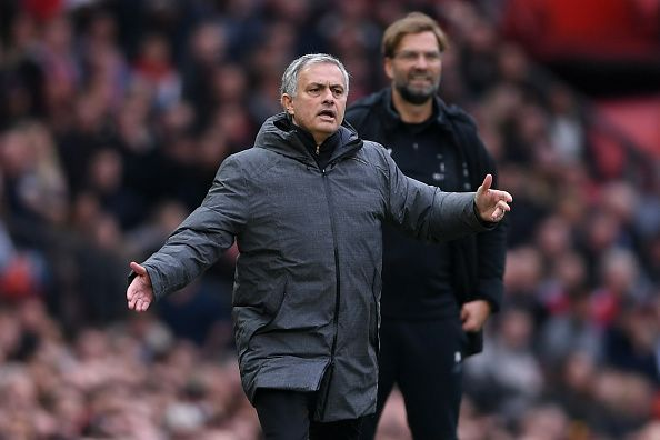 Jose Mourinho was the last United manager to be sacked, after a 3-1 defeat against Liverpool