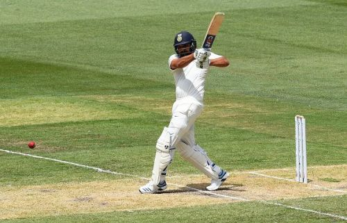 Rohit Sharma hit two centuries in the first Test against South Africa