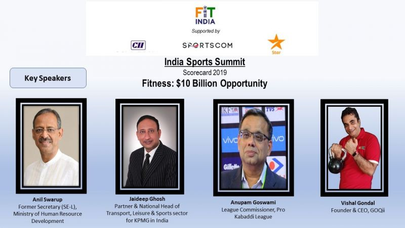 India Sports Summit: Speakers