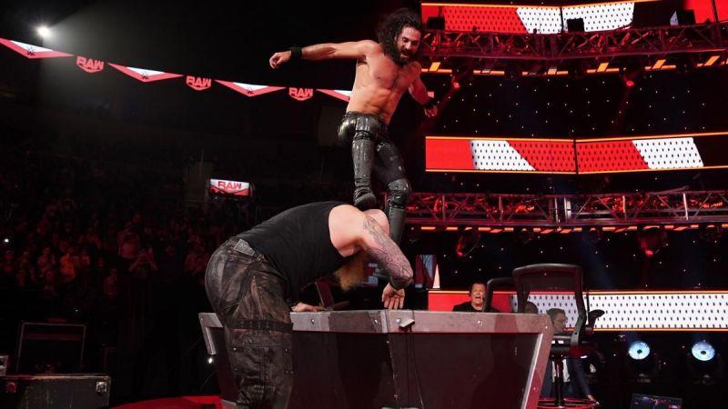 रॉ में हुआ धमाकेदार मैच