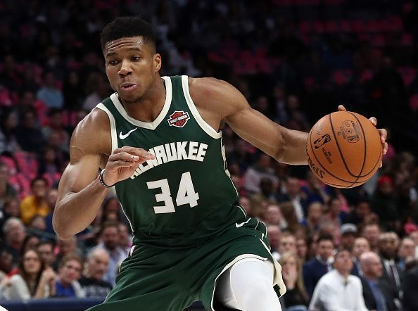 Giannis Antetokoumnpo will be looking to lead the Bucks to an easy home win