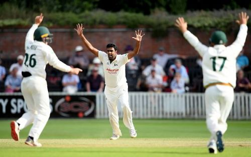 Somerset v Nottinghamshire - Specsavers County Championship - Day Two