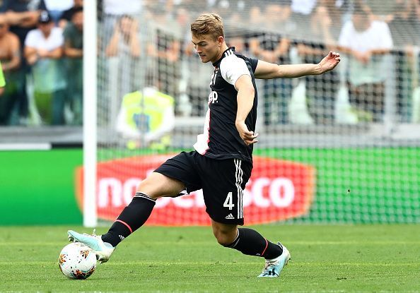 De Ligt is yet to hit his top level in Turin