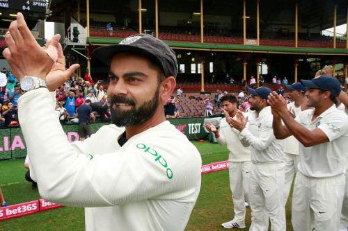 Virat Kohli will captain the Indian Test team