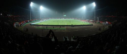 The crowd support has been pretty consistent at 'The Furnace' for Jamshedpur FC (Credits: ISL)