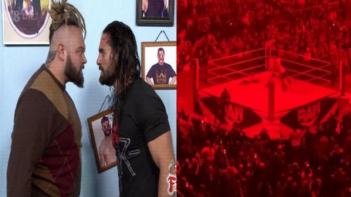 Rollins wrestled The Fiend after RAW went off-air