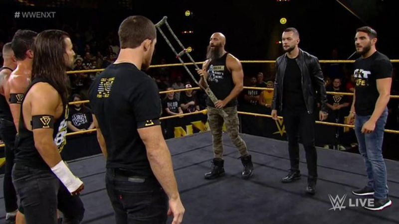 Finn Balor returned to the ring to shock the WWE Universe.