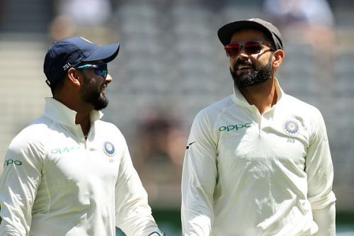 Does Virat Kohli believe in Pant?