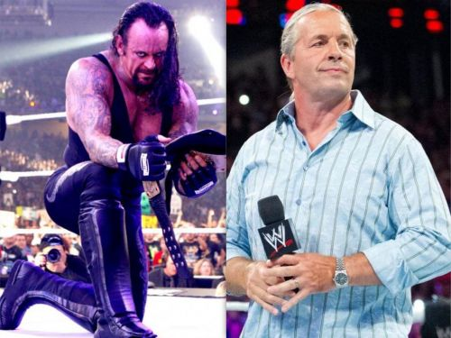 The Undertaker and Bret Hart