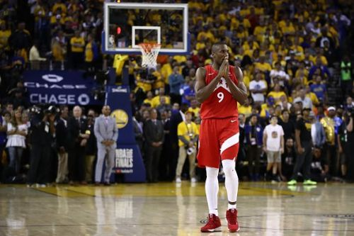 Serge Ibaka impressed during the 2019 NBA Finals