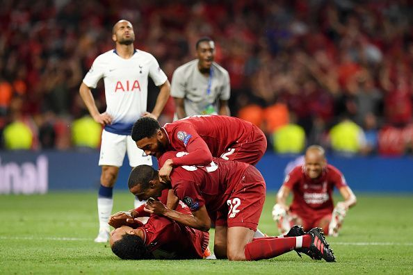 The last time the two sides met, the Reds claimed their sixth UEFA Champions League title.