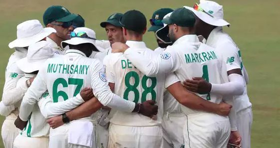 दक्षिण अफ़्रीकी टीम