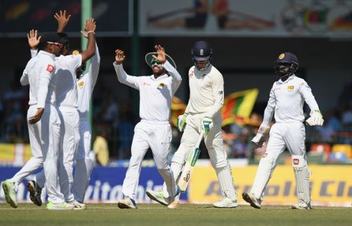 Sri Lanka is at the sixth position in the ICC Test rankings