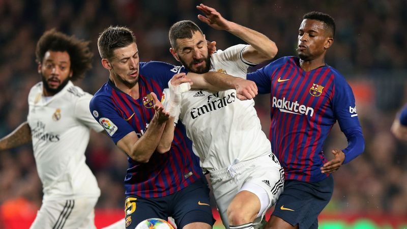 Barcelona and Real Madrid square off at Camp Nou