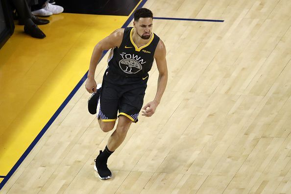Klay Thompson will miss at least 55 games for the Warriors this season