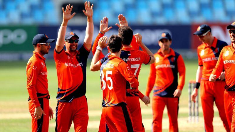 नीदरलैंड्स ने एकतरफा मुकाबले में यूएई को हराया (Photo: ICC)