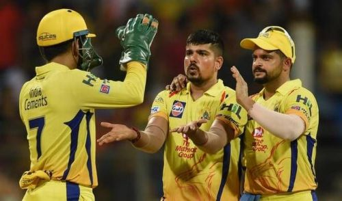 Karn Sharma thanked MS Dhoni after being retained in IPL 2019