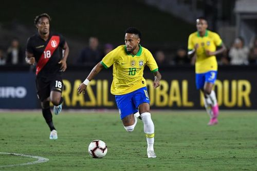 Neymar has found some form on his return to the pitch