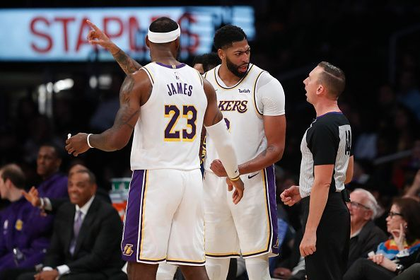 The Los Angeles Lakers are among the best performing teams in the West