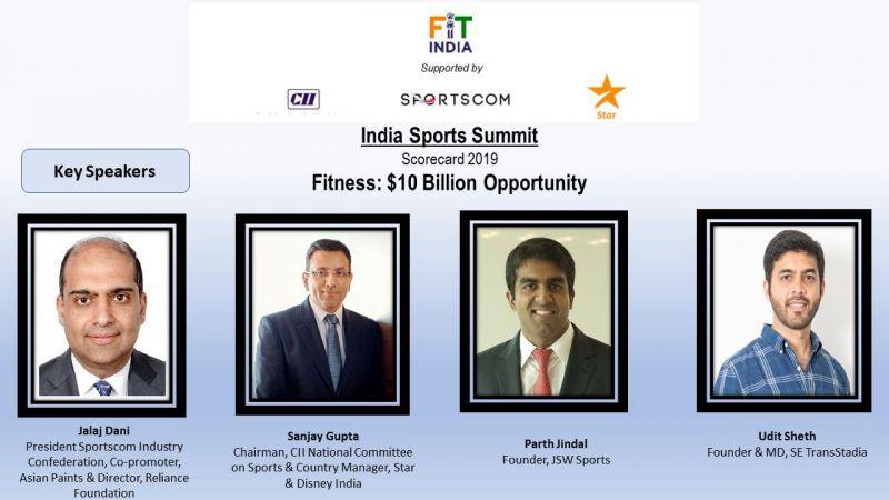 India Sports Summit 2019: Speakers