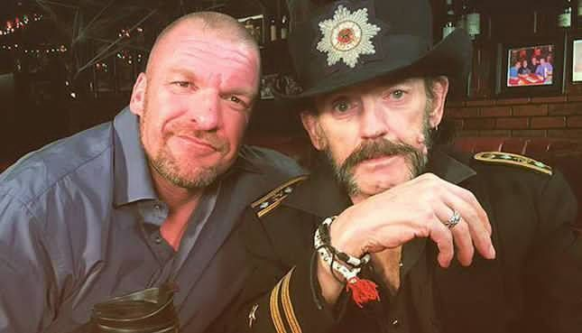 Triple H with Motorhead