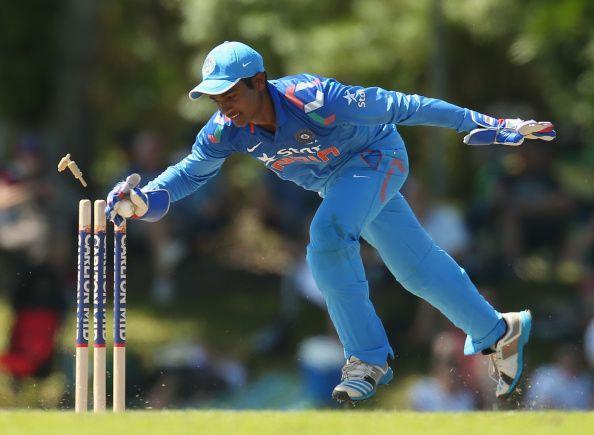 Sanju Samson made his international comeback after four years.