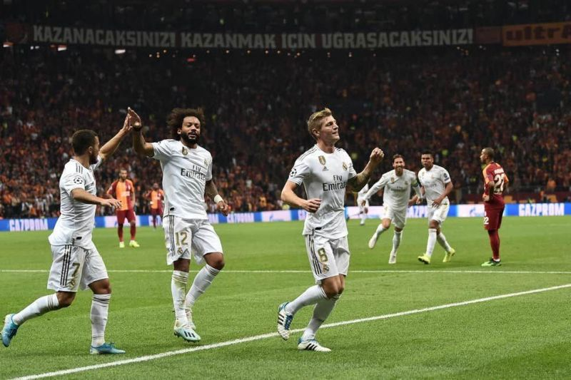Madrid edged past Galatasaray in Istanbul