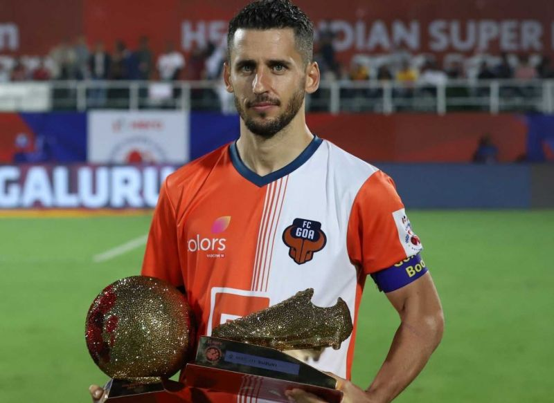Ferran Corominas is the only player to have won the award in two consecutive seasons.